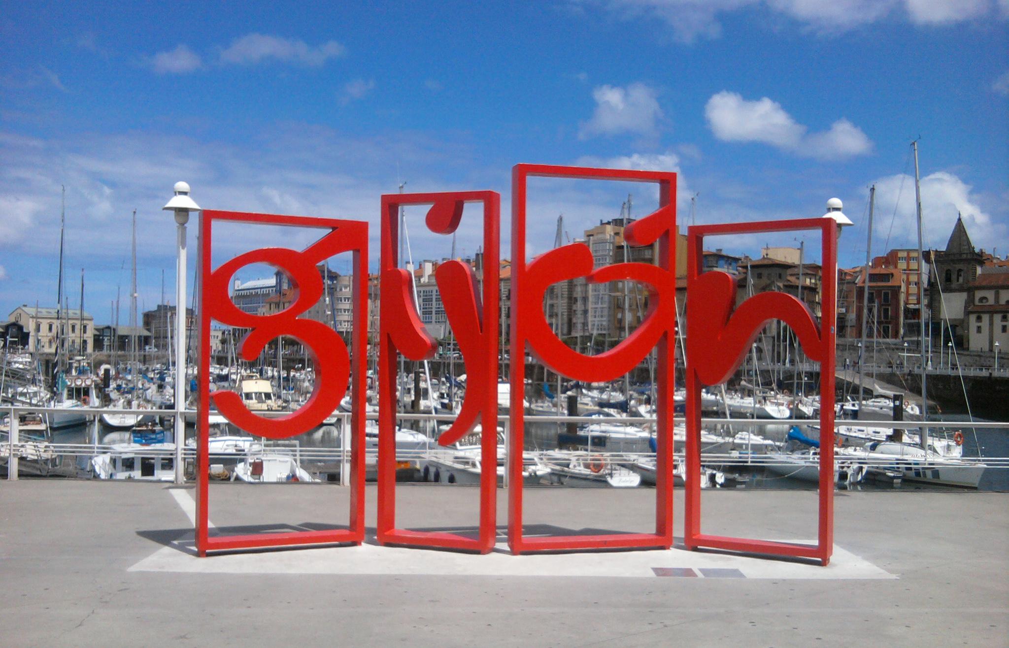 Gijón en familia … Mola !!!